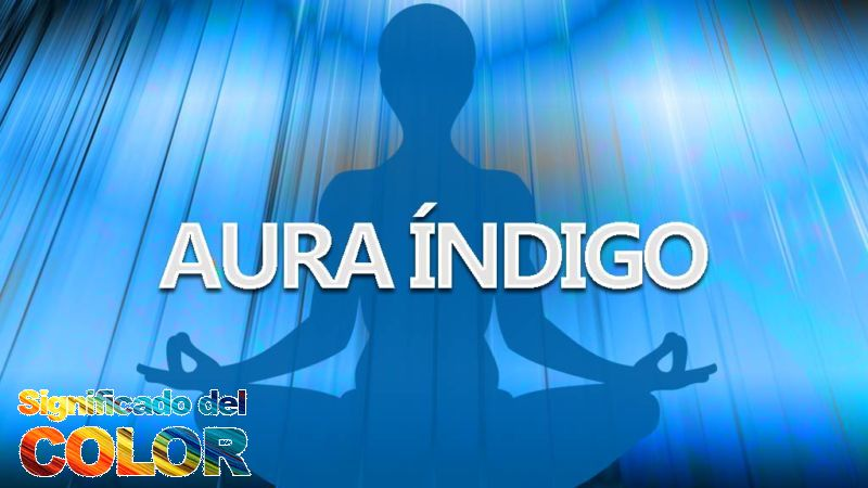 Aura color Índigo
