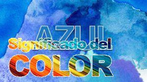 La psicología del color del azul