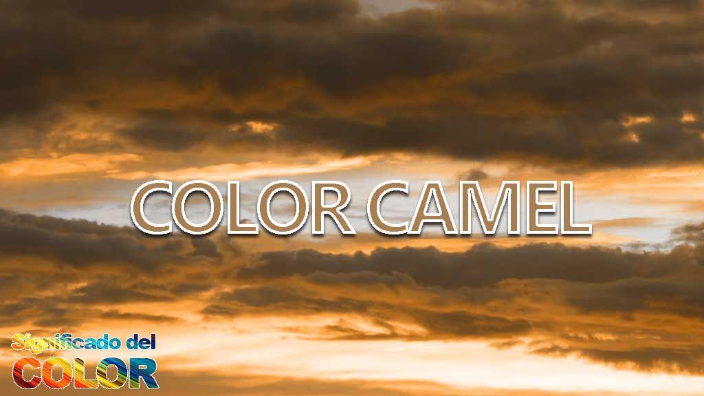 Significado del color camel