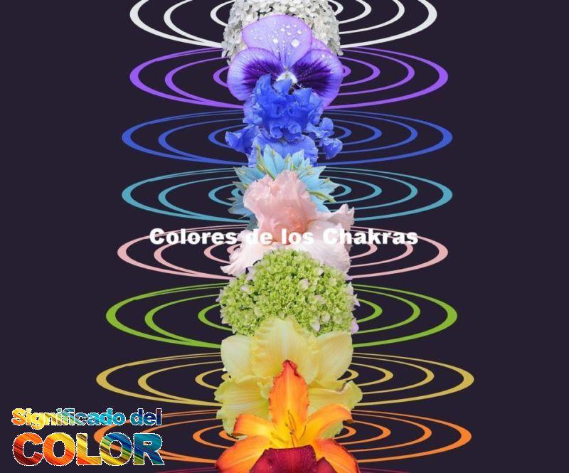 Colores de los Chakras