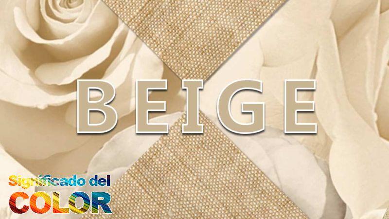 Cómo se hace el color Beige