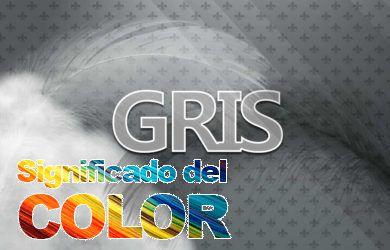 Significado del color gris
