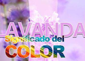 Color Lavanda: Significado y Psicología