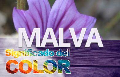 Color Malva; Psicología y significado