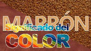 La psicología del color del marrón