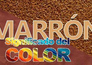 Significado del Color Marrón