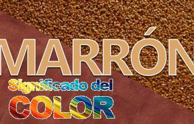 Significado del Color Marrón