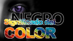 La psicología del color negro