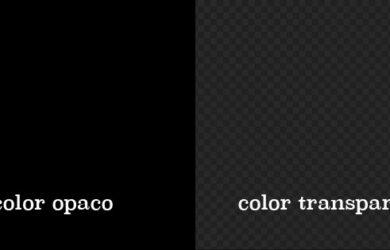 Qué significa el color opaco