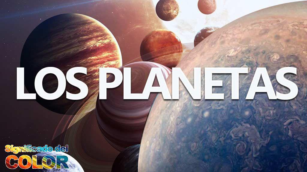 De qué color son los planetas