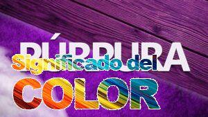 La psicología del color púrpura