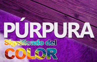 Color Púrpura, Psicología y significado