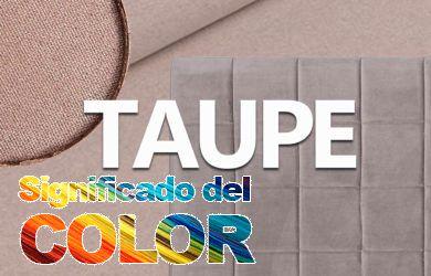 Significado del Color Taupe (Marrón Topo)