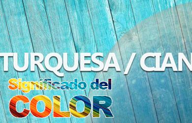 El color Turquesa o Cian