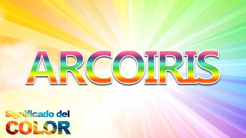 Cuáles son los colores del arco iris