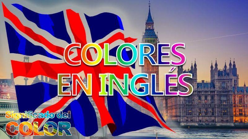 Aprender los colores en inglés