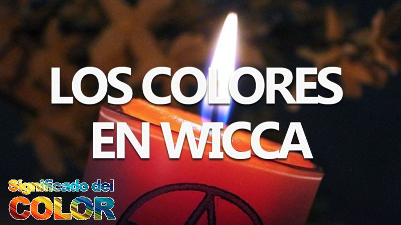Colores y significados de la magia de las velas