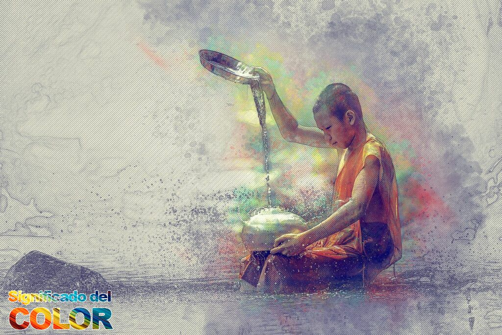 Colores en el budismo