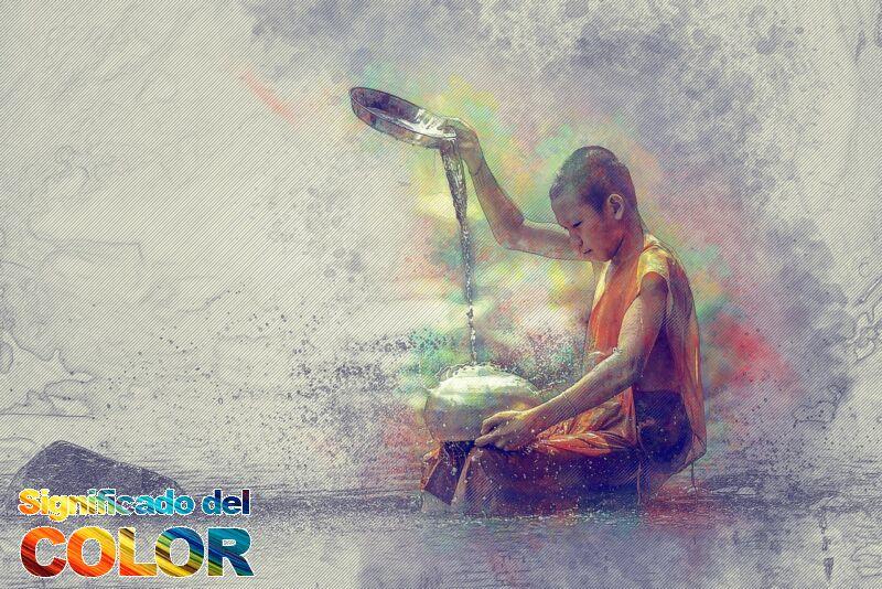 Los 5 colores del Budismo