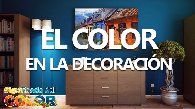 Colores para paredes. Uso del color en la decoración