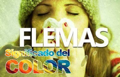 Color de las flemas