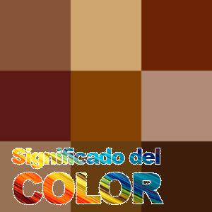 Cómo se hace el color Marrón