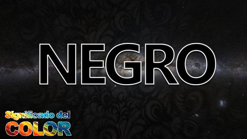 qué significa el color negro
