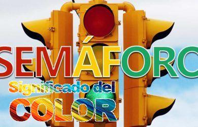 Significado de los colores del semáforo