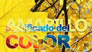 La psicología del color del amarillo