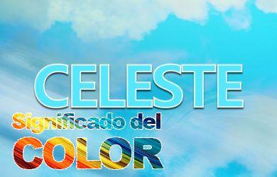 Significado del color Celeste