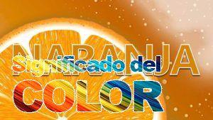 La psicología del color del naranja