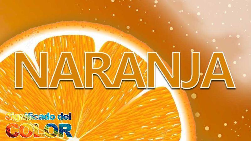 el Significado del color Naranja