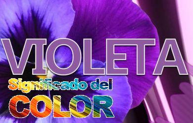 Significado del color Violeta