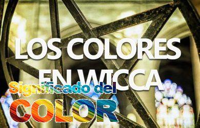 Los significados de los colores en wicca