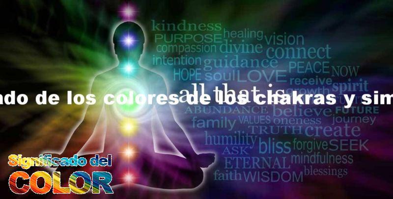 Significado de los colores de los chakras