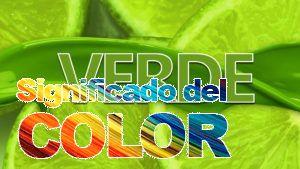 La psicología del color del verde