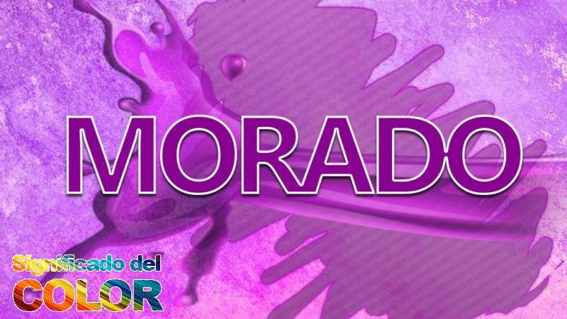 Qué significa el color Morado